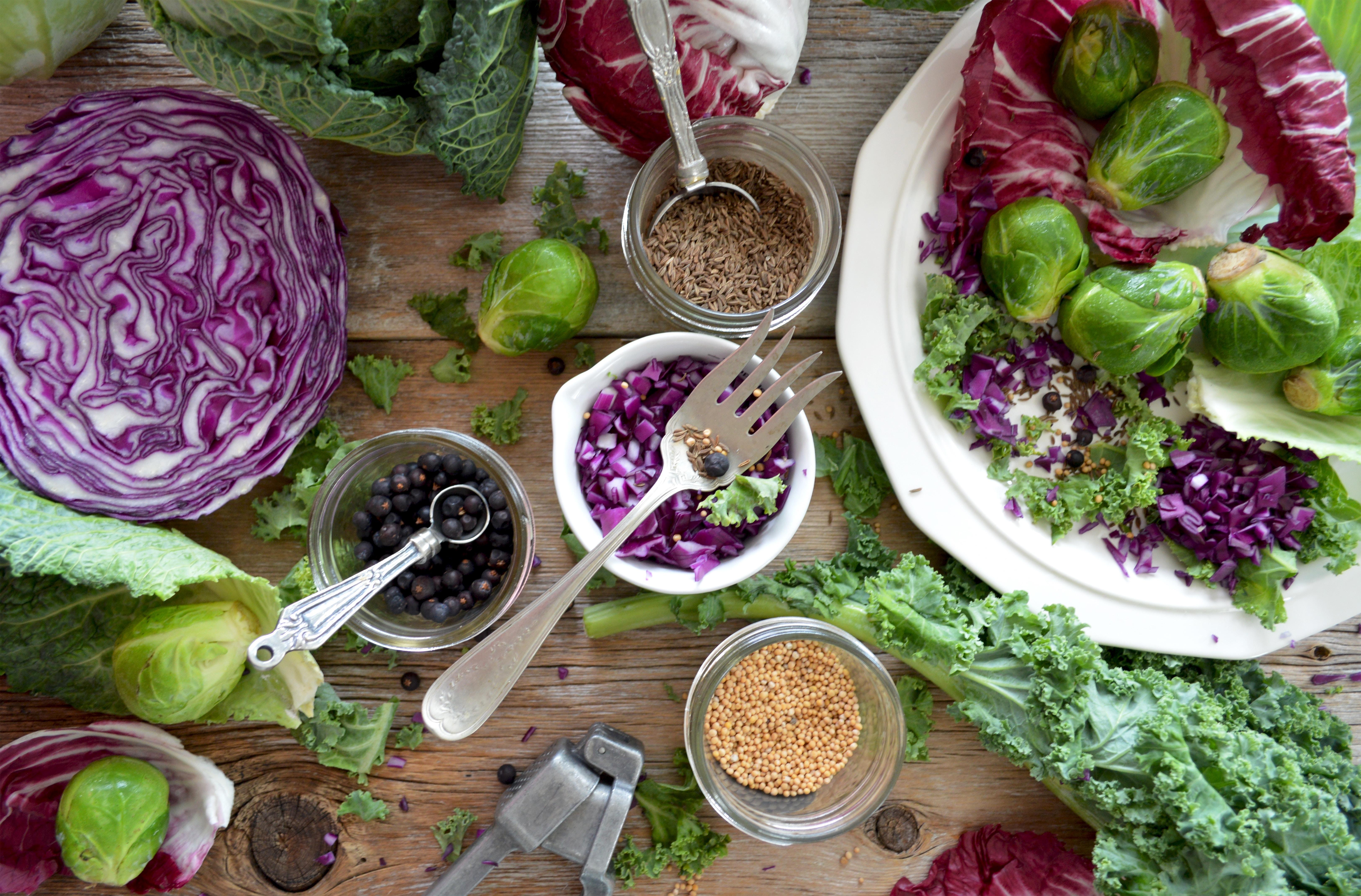 Frutta e verdura viola contro l'invecchiamento precoce