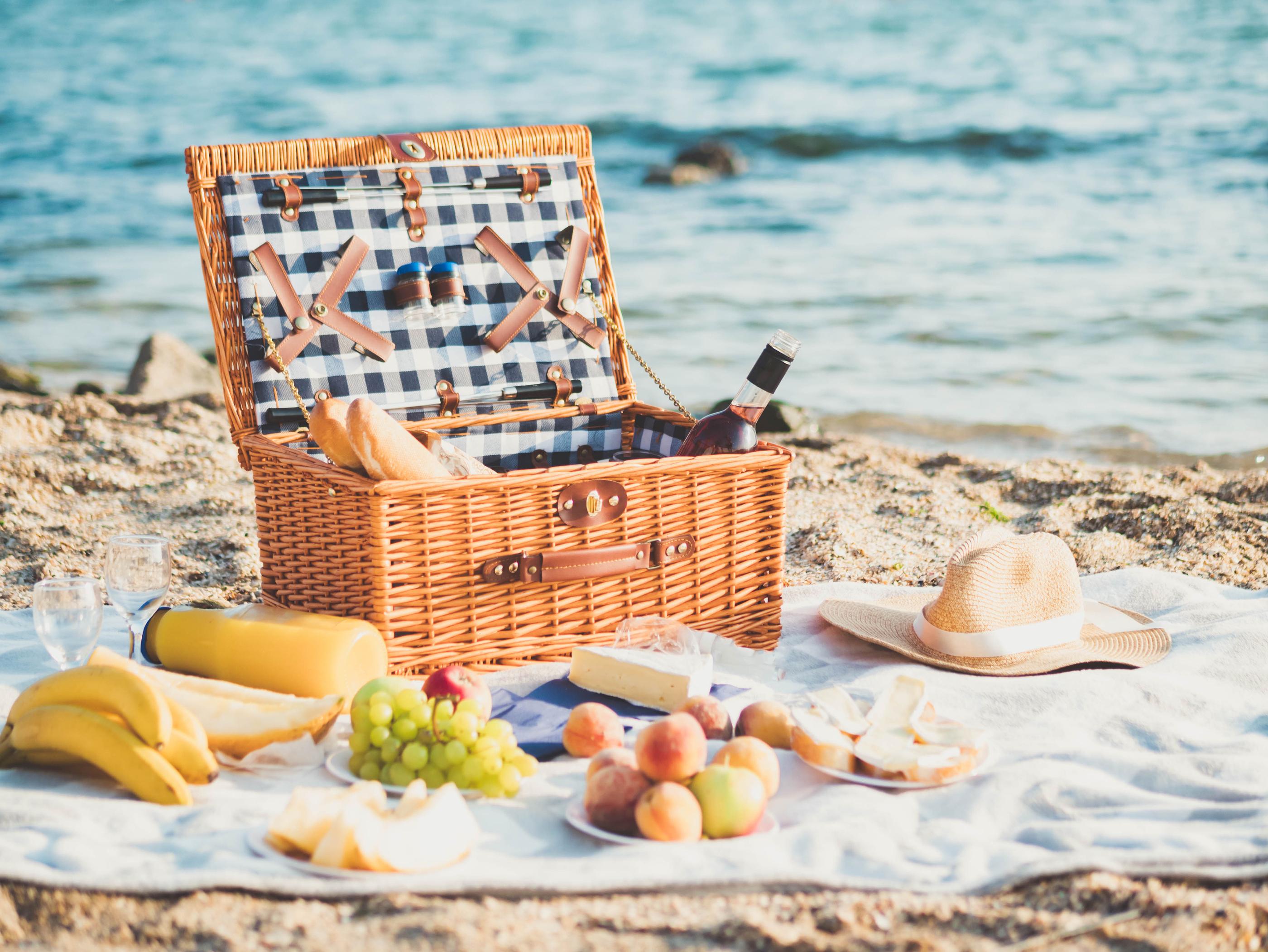 Il pranzo perfetto per andare a mare